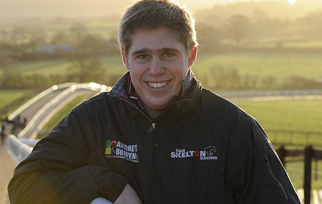 Dan Skelton of Dan Skelton Racing at Lodge Hill Nr Alcester in Warwickshire on the 6th December 2013