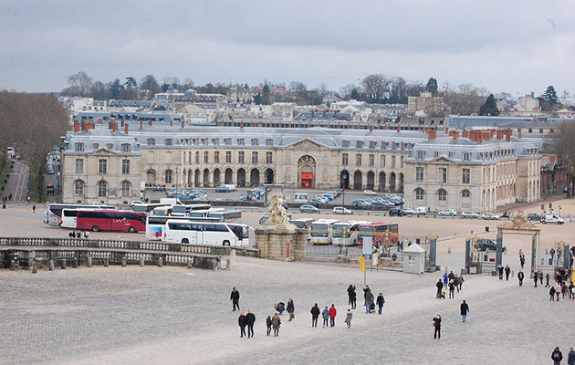 Versailles showjumping