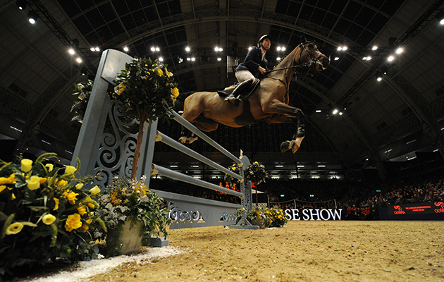 Scott Brash riding Hello M'Lady (GBR) winner of The Longines FEI World Cup presented by H&M at the Olympia International Horse Show at Olympia, London, UK; on 18 th December 2016 olympia horse show job