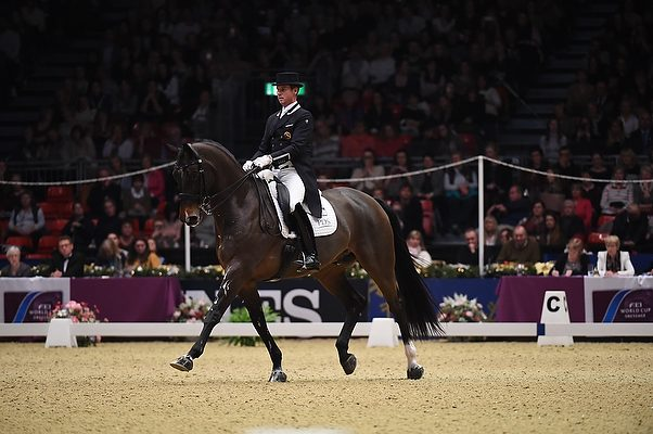 Olympia dressage grand prix results Carl Hester
