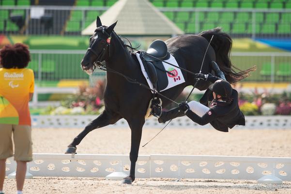 Ashley Gowanlock (CAN) & Di Scansano - Individual Championship Test Grade Ib – Rio 2016 Paralympic Games – Rio de Janeiro, Brazil – 14 September 2016