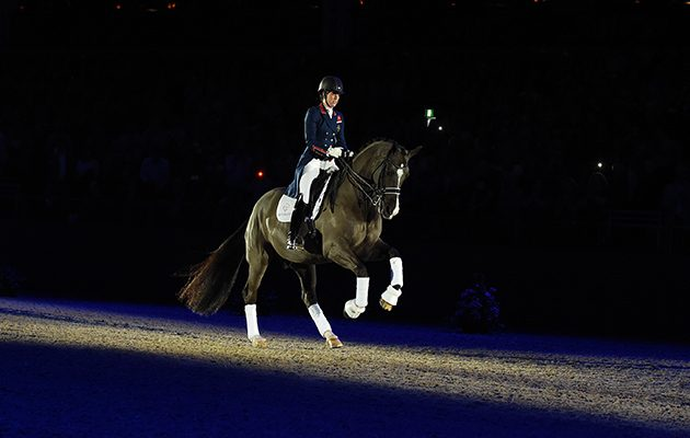 Tbt valegro 39 s 2016 retirement ceremony at olympia in for Zoe dujardin