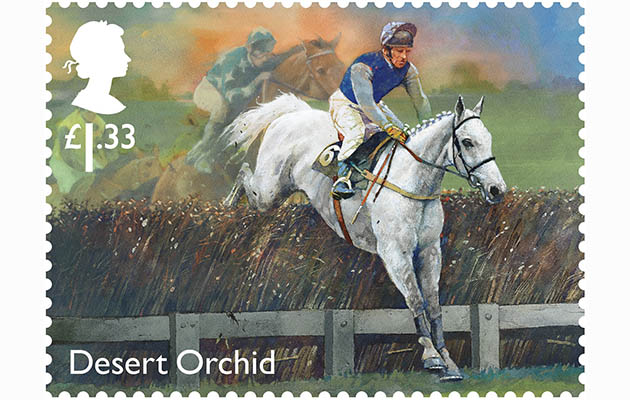 Desert Orchid stamp