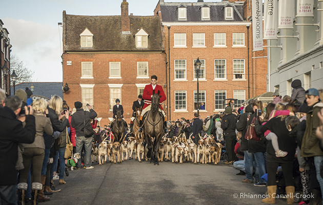 Pictures from the Ludlow hunt on Boxing day at Ludlow Castle, Shropshire. taken by myself Rhiannon Carvell-Crook.'