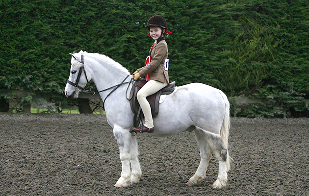 112 Chaswill Mascot (112) Rider Faith-Bruno Page aged 10yrs.