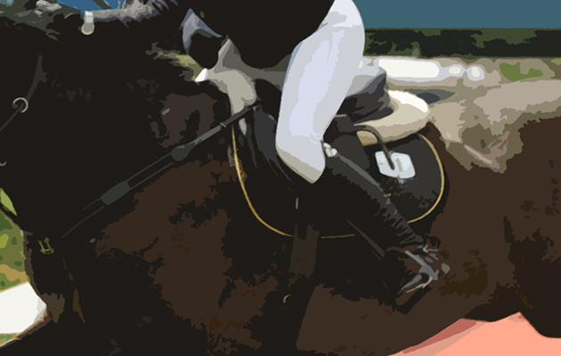 The Bunn Leisure Derby Trial Ellen Whitaker riding Locarno 62