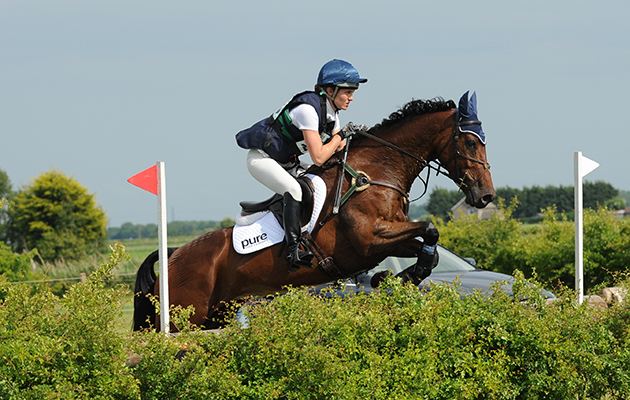 Danielle Dunn riding ZOCARLA BLH during Little Downham Horse Trials, at Ely Eventing Centre, Little Downham, Ely, Cambridgeshire, UK on 5th June 2015