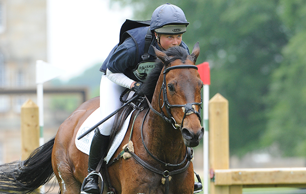Sarah Parkes (GBR) riding BALLADEER DURBAN HILLS in the CICO *** Section D of the Houghton International Horse Trials at Houghton Hall near Kings Lynn in Norfolk, UK between 26th - 29th May 2016