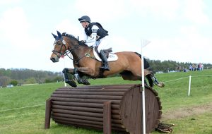 James Sommerville riding TALENT 8th in CIC ** Section Aat Burnham Market Horse Trials in Norfolk on 18th April 2014
