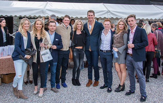 Willberry does Badminton: stars help raise thousands at preview event - Horse & Hound