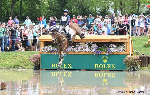 Rolex Kentucky cross-country Zara Tindall