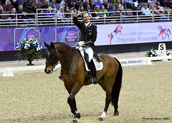 Carl Hester World Cup final