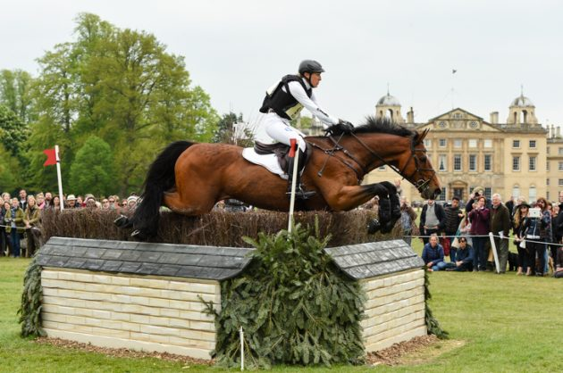 Badminton Horse Trials cross-country times