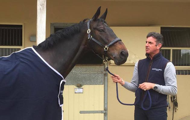 Spencer Sturmey welcomes Sprinter Sacre to his yard for retraining