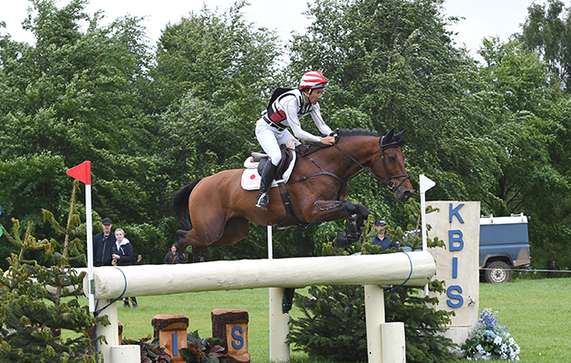 Yoshiaki Oiwa riding CALLE 44 during the cross country phase of the CCI*** at the Equitrek Bramham International Horse Trials, near Weatherby in Yorkshire in the UK between 8th-11th June 2017