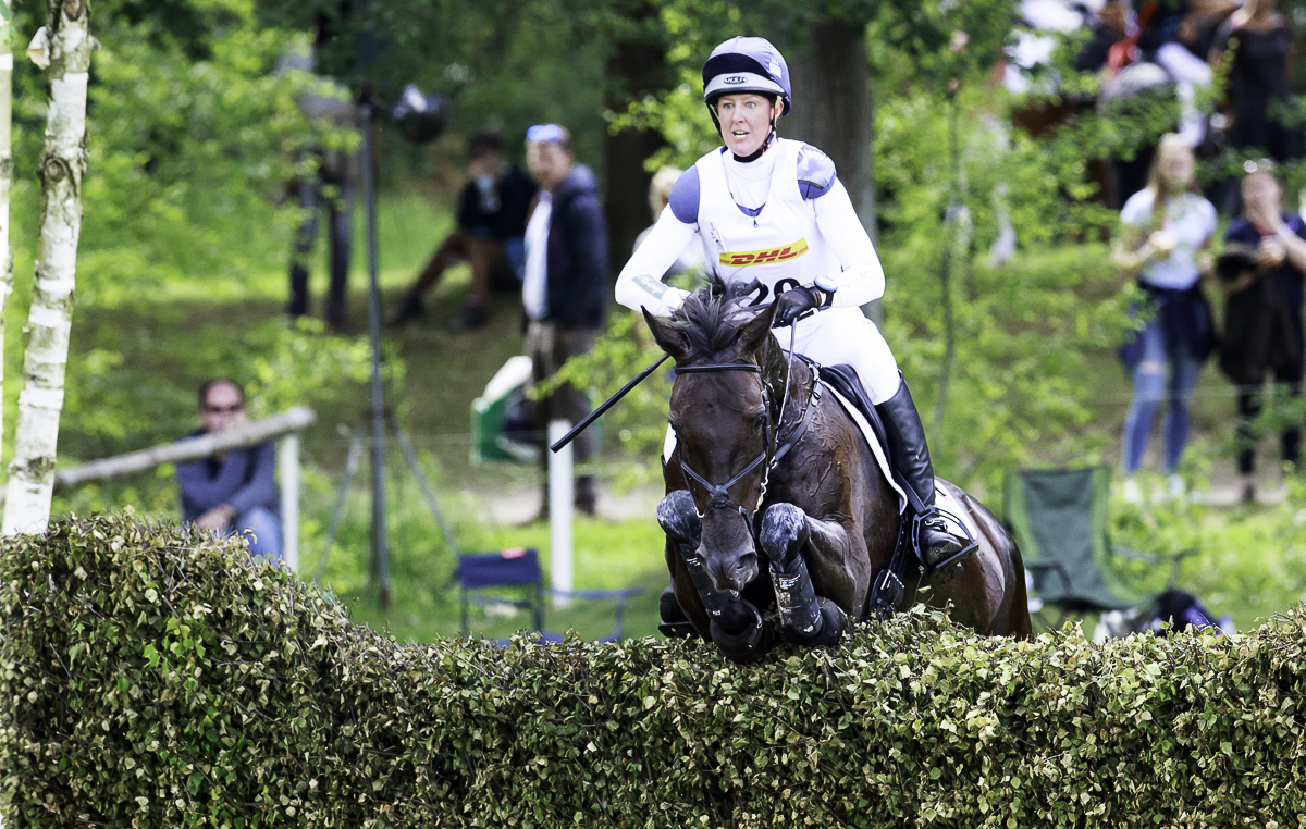 Luhmuhlen cross-country Nicola Wilson