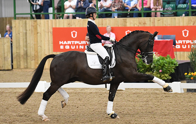 Charlotte Dujardin on Valegro at Hartpury Festival of Dressage 2017