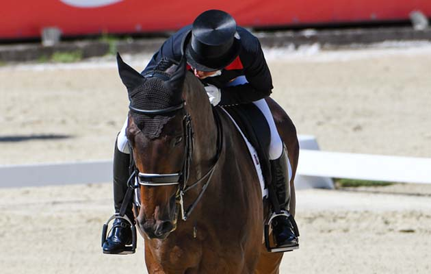 European Eventing Championships dressage