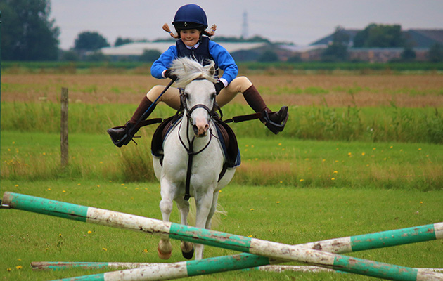 Sometimes those cross-poles can feel like the Hickstead Derby course…