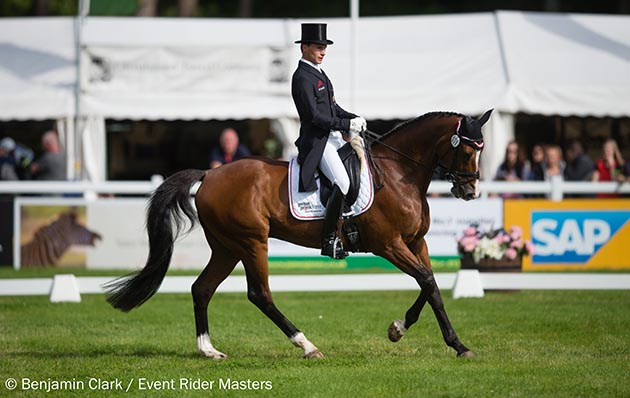 Event Rider Masters Blair dressage