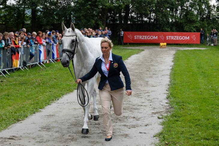 European Championships trot-up Gemma Tattersall Quicklook V