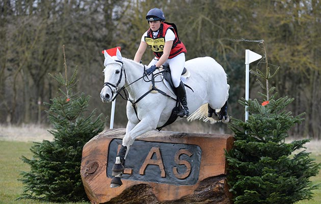Sophie Brown riding WIL in the OI Section P, during Lincolnshire One Day Event at Lincolnshire Showgrounds near Lincoln in Lincolnshire UK on20th March 2016