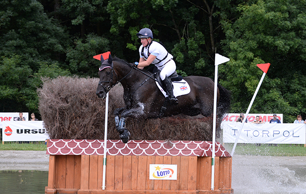 Nicola WILSON (GBR) riding BULANA during the cross country phase of the FEI European Championships at Strzegom in Poland between 15 - 20th August 2017