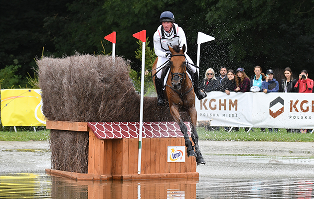 Oliver TOWNEND (GBR) riding COOLEY SRS during the cross country phase of the FEI European Championships at Strzegom in Poland between 15 - 20th August 2017
