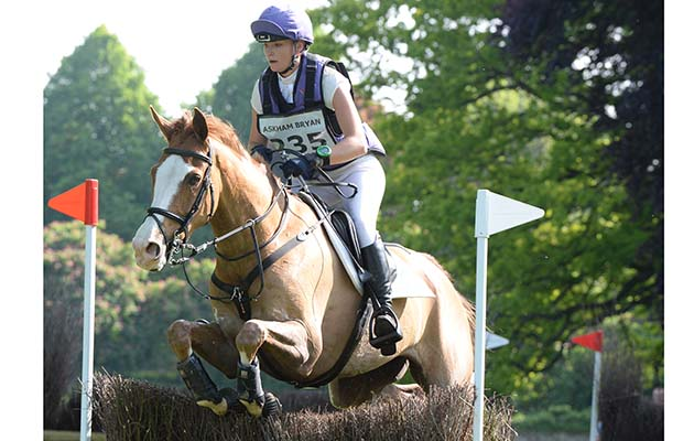 Emily King (GBR) riding DARGUN in the CCIYR ** Section C of the Houghton International Horse Trials at Houghton Hall near Kings Lynn in Norfolk, UK between 26th - 29th May 2016