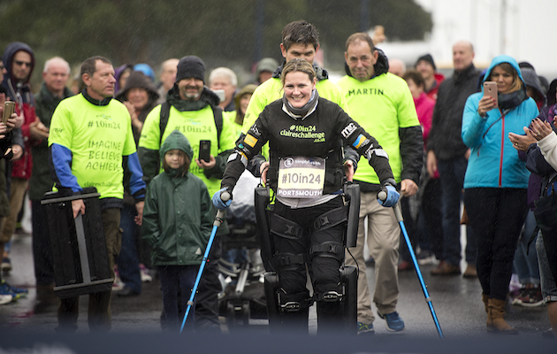 Claire Lomas Great South Run