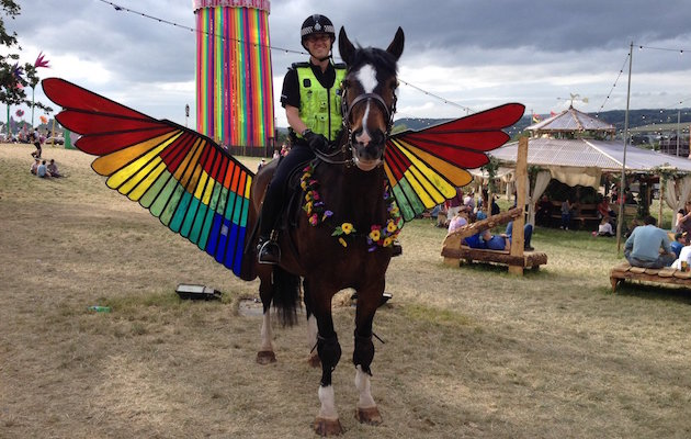 broadmead police horse