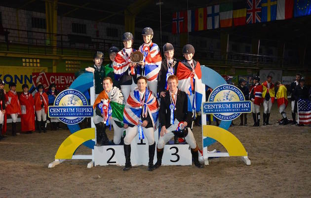 Great Britain student riders world finals Poland 2017
