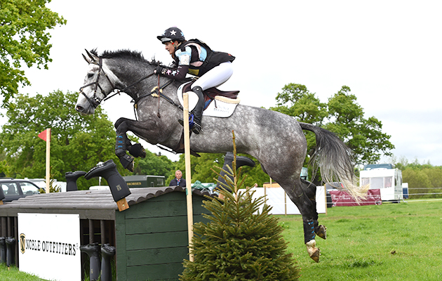 Anna Cheney riding EVERY STONE in the CIC* Section A during the Rockingham Castle Horse Trials near Corby in Northamptonshire,UK on the 21st May 2016