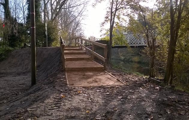 bridleway steps