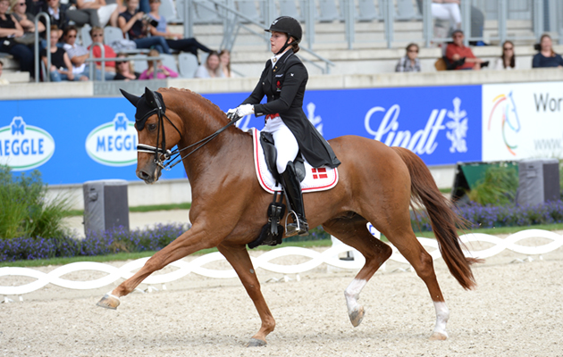 Cathrine Dufour riding Atterupgaards Cassidy