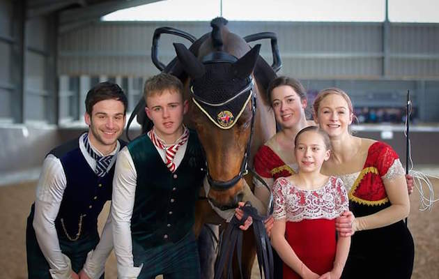 British vaulters fundraising world equestrian games tryon 2018