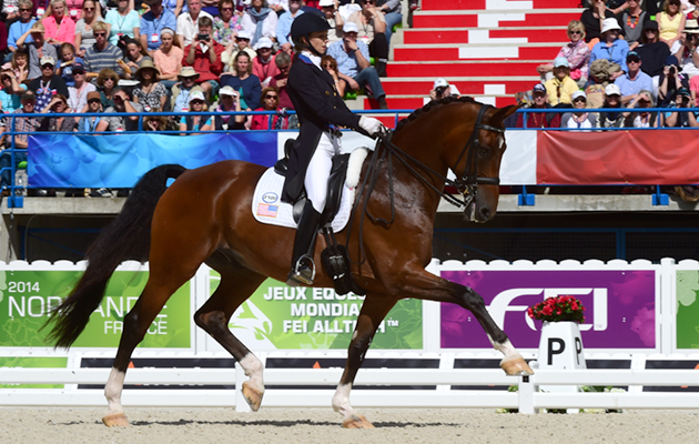 World Equestrian Games dressage freestyle