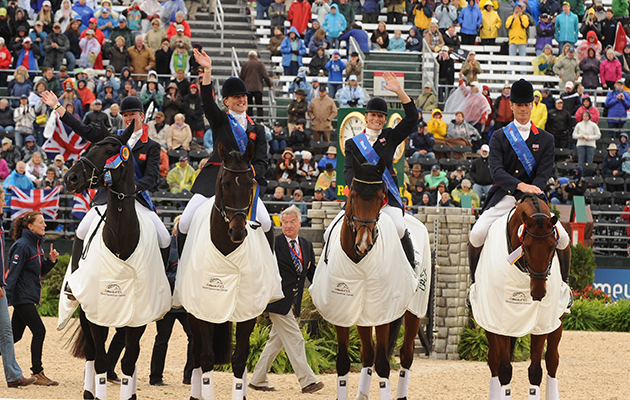 World Equestrian Games eventing results