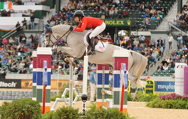 World Equestrian Games showjumping results