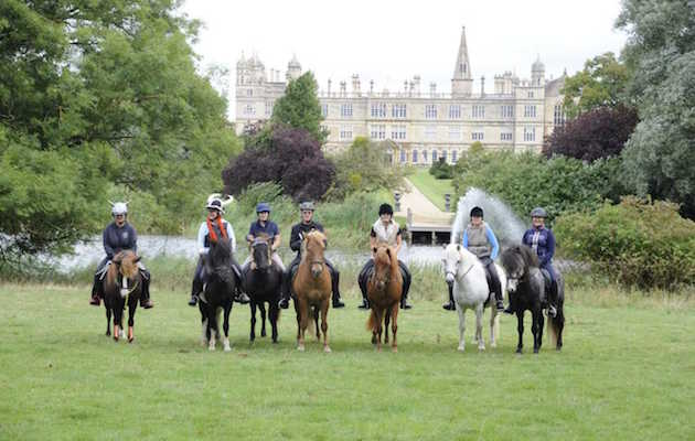 Burghley Horse Trials sponsored ride