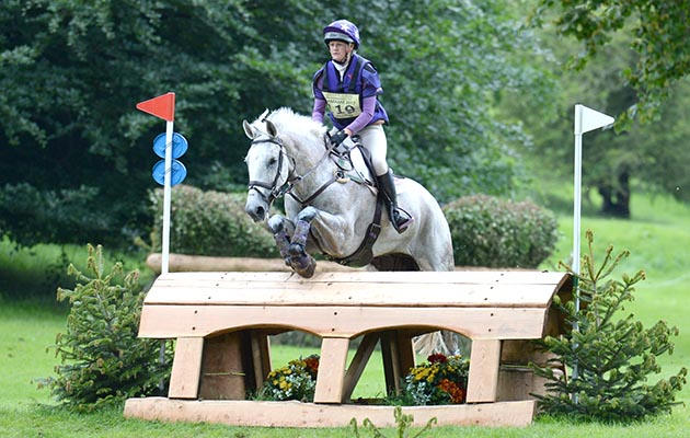 Ashley Edmond riding TRIPLE CHANCE II during the cross country phase of the under 25 CCI*** at the Equitrek Bramham International Horse Trials, near Weatherby in Yorkshire in the UK between 8th-11th June 2017