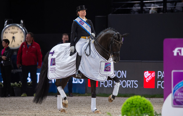 Paris World Cup dressage final 2018 freestyle Isabell Werth