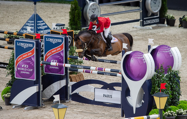 Paris World Cup jumping 2018 Beezie Madden Breitling LS