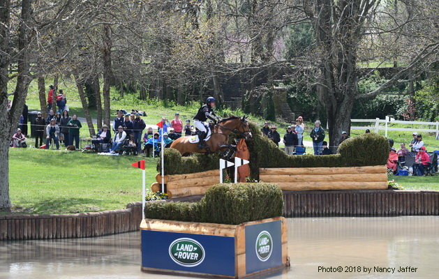 Oliver Townend Kentucky cross-country Cooley Master Class