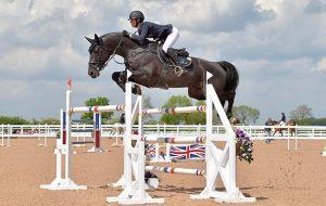 Ellen Whitaker riding Arena UK Winston