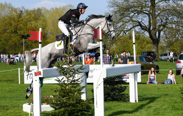 Oliver Townend whip Badminton