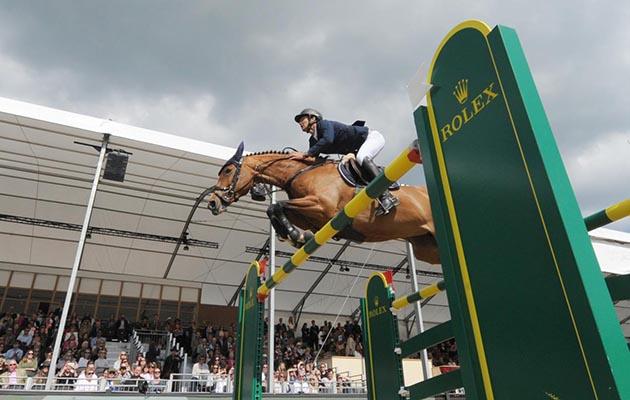 Steve Guerdat winning at Royal Windsor Horse Show