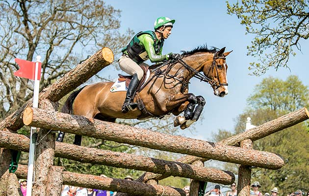 Jonty Evans riding Cooley Rorkes Drift at Badminton 2018. Picture by sarahfarnsworth.co.uk
