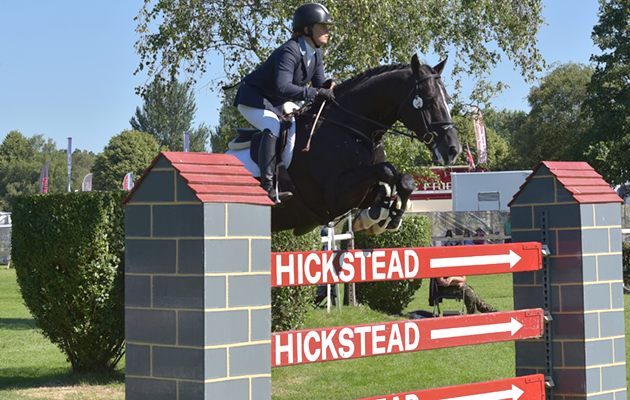 Billy Congo and Pippa Funnell in the 1.35m (class 143)