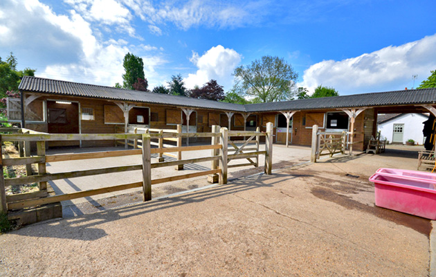 Getting planning permission for stables is key before you start to build.